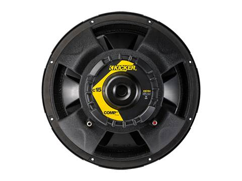 "Kicker - kicker 15"" Comp 4 Ohm SVC"