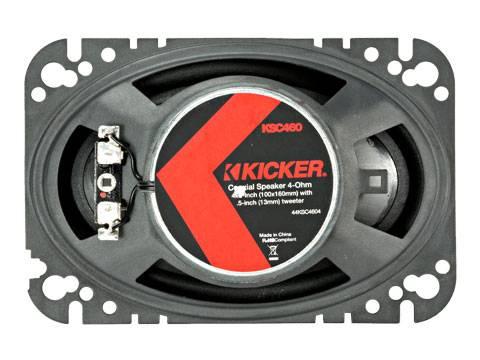 """Kicker - kicker KS Series 4x6"""" Coax"""