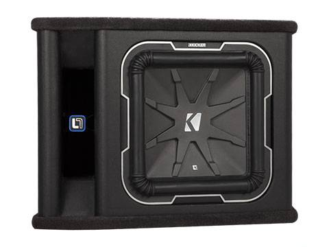 "Kicker - kicker 12"" L7 2 ohm Loaded Enclosure"