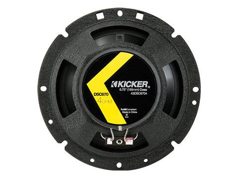"Kicker - kicker DS Series 6.75"" Coax"