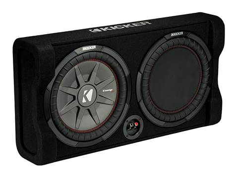 "Kicker - kicker Down-Firing 12"" CompRT 2-Ohm Enclosure"