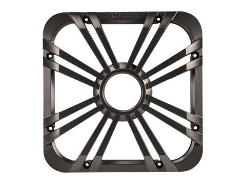 "Kicker - kicker 10"" Square Charcoal LED Grille"