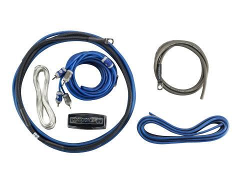 Kicker - kicker 8AWG 2-Channel Amp Kit