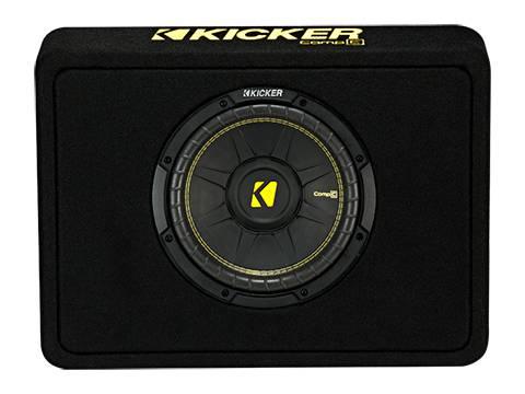"""Kicker - kicker 10"""" CompC Enclosure"""