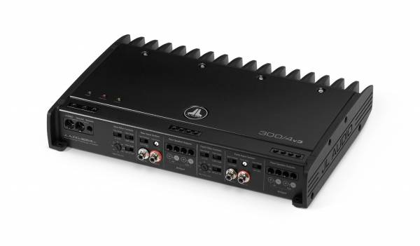 JL Audio - JL Audio 300/4v3 4 Ch. Class A/B Full-Range Amplifier, 300 W
