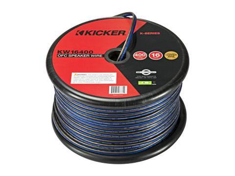 Kicker - kicker 16AWG 400ft Speaker Wire