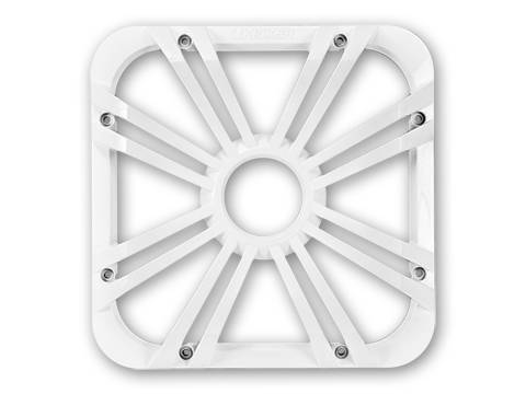 "Kicker - kicker 12"" Square White LED Grille"