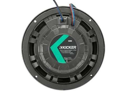 "Kicker - kicker KM 8"" 4? LED Coaxial"