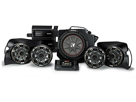Kicker - kicker 5 Speaker Polaris® RZR® System (PHASE 5)