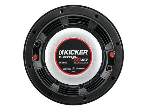 """Kicker - kicker 6 3/4"""" CompRT 2 Ohm"""