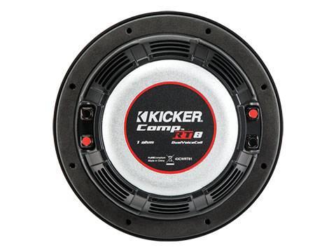 """Kicker - kicker 8"""" CompRT 2 Ohm"""