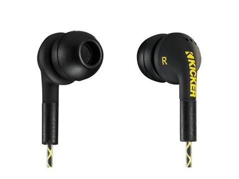 Kicker - kicker EB74 Earbuds