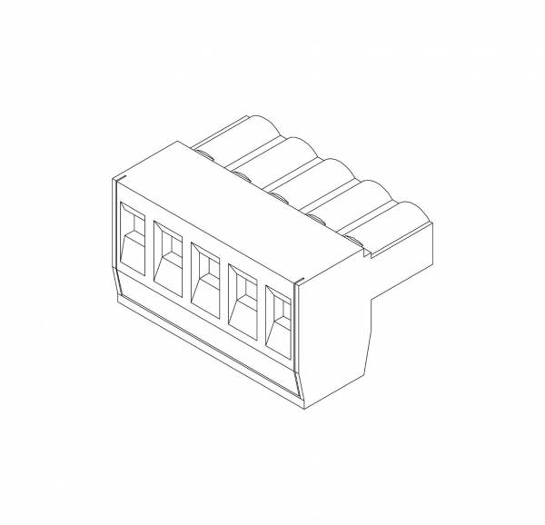 JL Audio - JL Audio FIX/TWK-PWRPLUG-RP Replacement Power Plug (5 Pole) for FiX / TwK