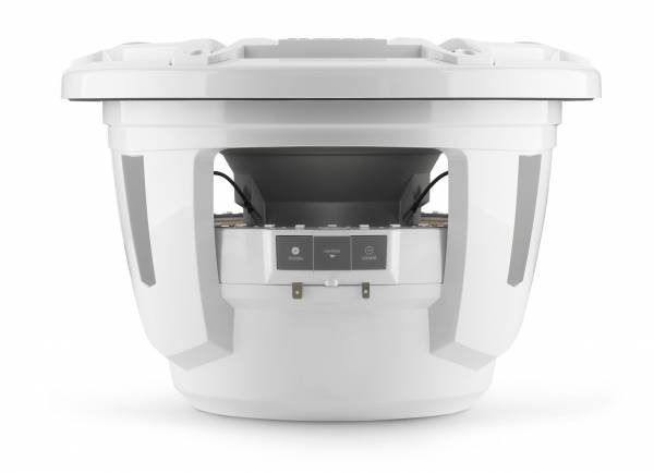 JL Audio - JL Audio M7-12IB-S-GwGw-i-4 12-inch (300 mm) Marine Subwoofer Driver with Transflective™ LED Lighting, Gloss White Trim Ring, Gloss White Sport Grille, 4 ohm