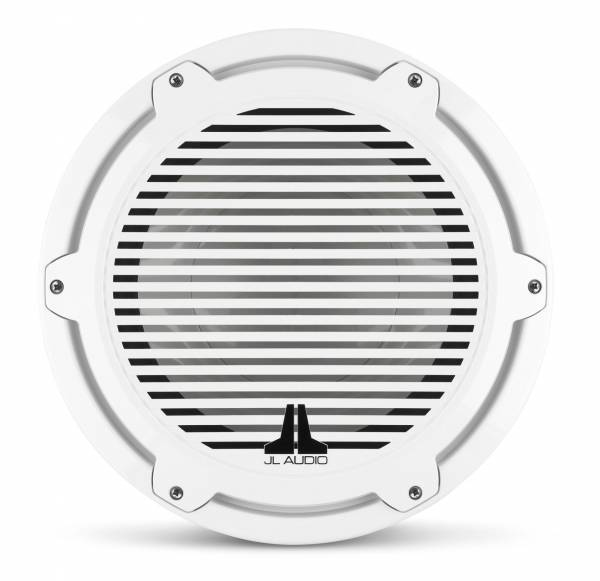 JL Audio - JL Audio M7-12IB-C-GwGw-4 12-inch (300 mm) Marine Subwoofer Driver, Gloss White Trim Ring, Gloss White Classic Grille, 4 ohm
