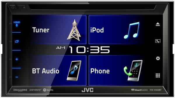 JVC - JVC KW-V350BT 2-DIN AV Receiver
