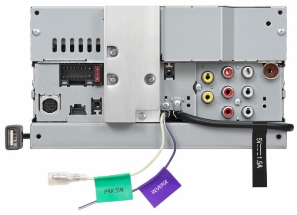 JVC - JVC KW-V340BT 2-DIN AV Receiver
