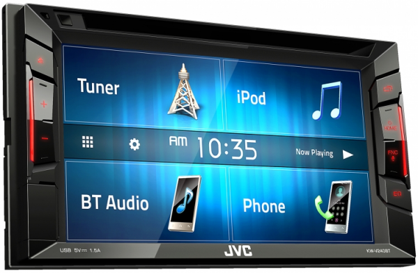 JVC - JVC KW-V240BT 2-DIN AV Receiver