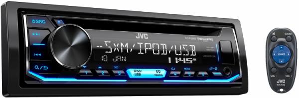 JVC - JVC KD-R690S 1-DIN CD Receiver
