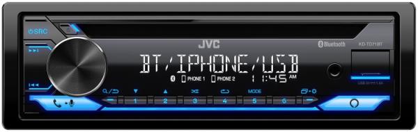 JVC - JVC KD-TD71BT 1-DIN CD Receiver