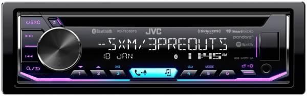 JVC - JVC KD-T805BTS 1-DIN CD Receiver