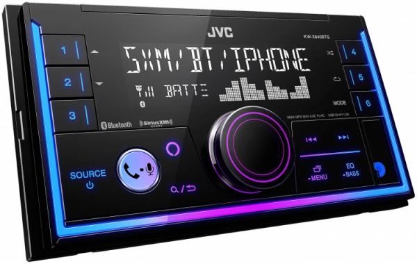 JVC - JVC KW-X840BTS 2-DIN Digital Media Receiver
