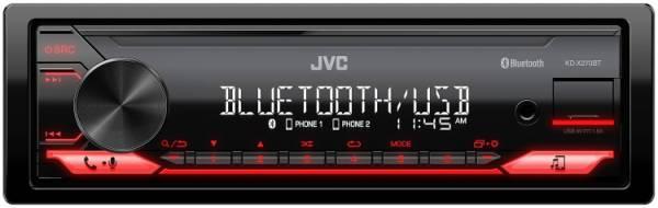 JVC - JVC KD-X270BT Digital Media Receiver