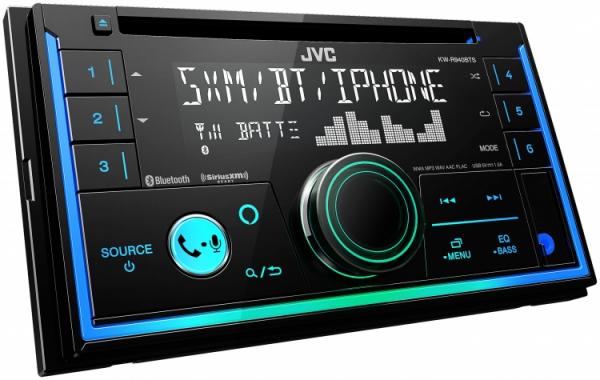 JVC - JVC KW-R940BTS 2-DIN CD Receiver