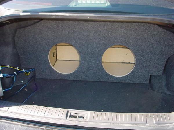 Audio Dynamics - Audio Dynamics [INF-504] 2003-2006- Infiniti G35 Sedan Custon Sub Box
