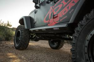 Exterior - Running Boards & Nerf Bars - Addictive Desert Designs - GGVF Stealth Fighter Side Steps S9515315501NA