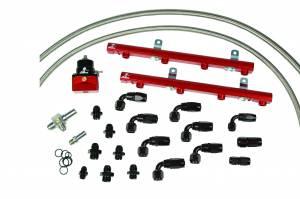 Fuel System - Fuel System Parts - Aeromotive Fuel System - Aeromotive Fuel System 1997 thru 2005 Ford 5.4 Liter 2 valve Fuel Rail Kit (non lightning truck) 14118