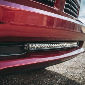 "Lighting - Wiring and Mounts - RIGID Industries - RIGID Industries 2013-2018 RAM 1500 Bumper Mount fits RIGID 30"" SR-Series LED light bar. 41671"