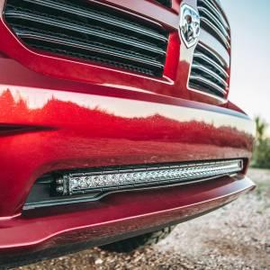 """RIGID Industries - RIGID Industries 2013-2018 Dodge RAM 1500 Bumper Mount fits RIGID 40"""" SR-Series light bar. 41672"""