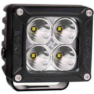 Lighting - Off Road Lights - ANZO USA - ANZO USA Rugged Vision Off Road LED Spot Light 881045