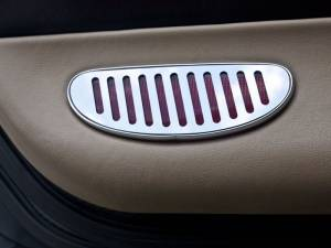 Lighting - Interior Lights - American Car Craft - American Car Craft Door Panel Light Reflector Covers Polished 2pc 031044