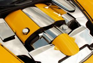 American Car Craft Alternator Cover Polished 043033