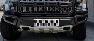 American Car Craft Front Lower Grille Overlay Factory Style Satin Stainless 1pc 772059