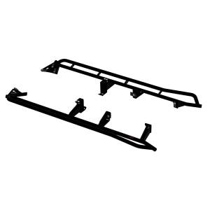 Exterior - Running Boards & Nerf Bars - MBRP Exhaust - MBRP Exhaust Rock Rail Kit 183519