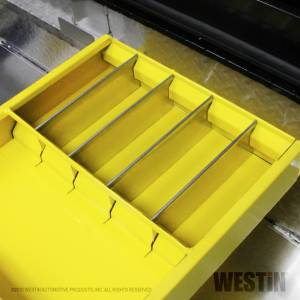 Westin - Westin 19in.L x 3.5in.H x 15in.W Tray w/4 silver dividers. Fits tool boxes: 80-RB121LP; 80-TR10 - Image 2