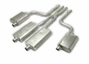 Gibson Performance Exhaust - Gibson Performance Exhaust Cat-Back Dual Exhaust System, Aluminized 317008