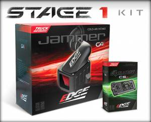 Performance - Air Intakes - Edge Products - Edge Products Jammer Cold Air Intakes 19001