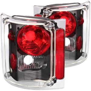 Lighting - Tail Lights - ANZO USA - ANZO USA Tail Light Assembly 211016