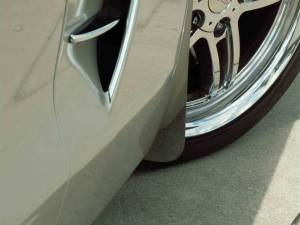 Exterior - Mud Flaps - American Car Craft - American Car Craft Mud Guards Polished Front 042077