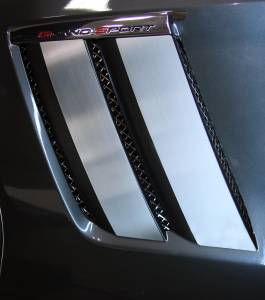 Exterior - Fenders & Flares - American Car Craft - American Car Craft Fender Trim Plates Satin 042083