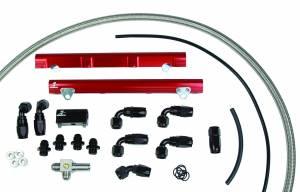 Fuel System - Fuel System Parts - Aeromotive Fuel System - Aeromotive Fuel System 1998 1/2 thru 2004 Ford DOHC 4.6 Liter Fuel Rail Kit (Cobra) 14122