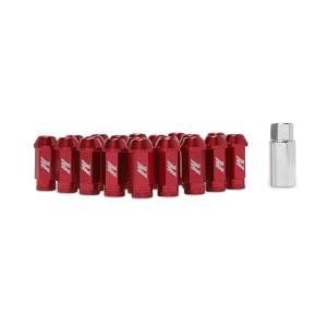 Wheels & Tires - Wheel & Tire Accessories - Mishimoto - FLDS Mishimoto Aluminum Locking Lug Nuts, M12 x 1.25 MMLG-125-LOCKRD