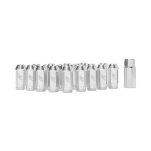 Wheels & Tires - Wheel & Tire Accessories - Mishimoto - FLDS Mishimoto Aluminum Locking Lug Nuts, M12 x 1.25 MMLG-125-LOCKSL