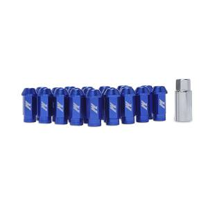 Wheels & Tires - Wheel & Tire Accessories - Mishimoto - FLDS Mishimoto Aluminum Locking Lug Nuts, M12 x 1.5 MMLG-15-LOCKBL
