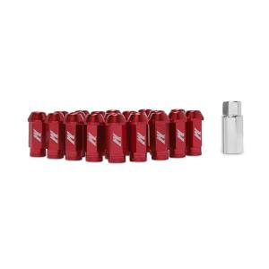 Wheels & Tires - Wheel & Tire Accessories - Mishimoto - FLDS Mishimoto Aluminum Locking Lug Nuts, M12 x 1.5 MMLG-15-LOCKRD