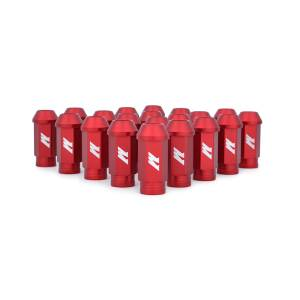 Wheels & Tires - Wheel & Tire Accessories - Mishimoto - FLDS Mishimoto Aluminum Competition Lug Nuts, M12 X 1.25 MMLG-125-RD